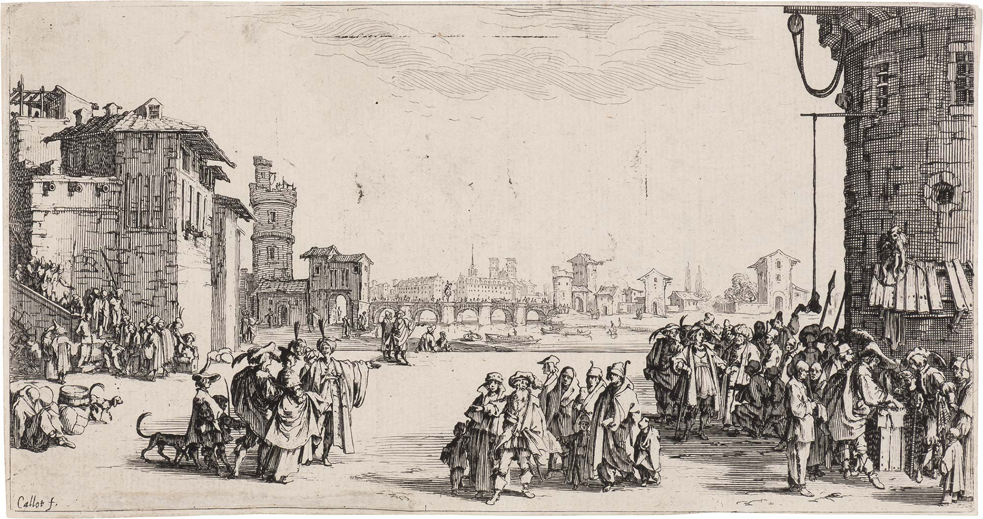 Lot image - Jacques Callot (1592-1635)