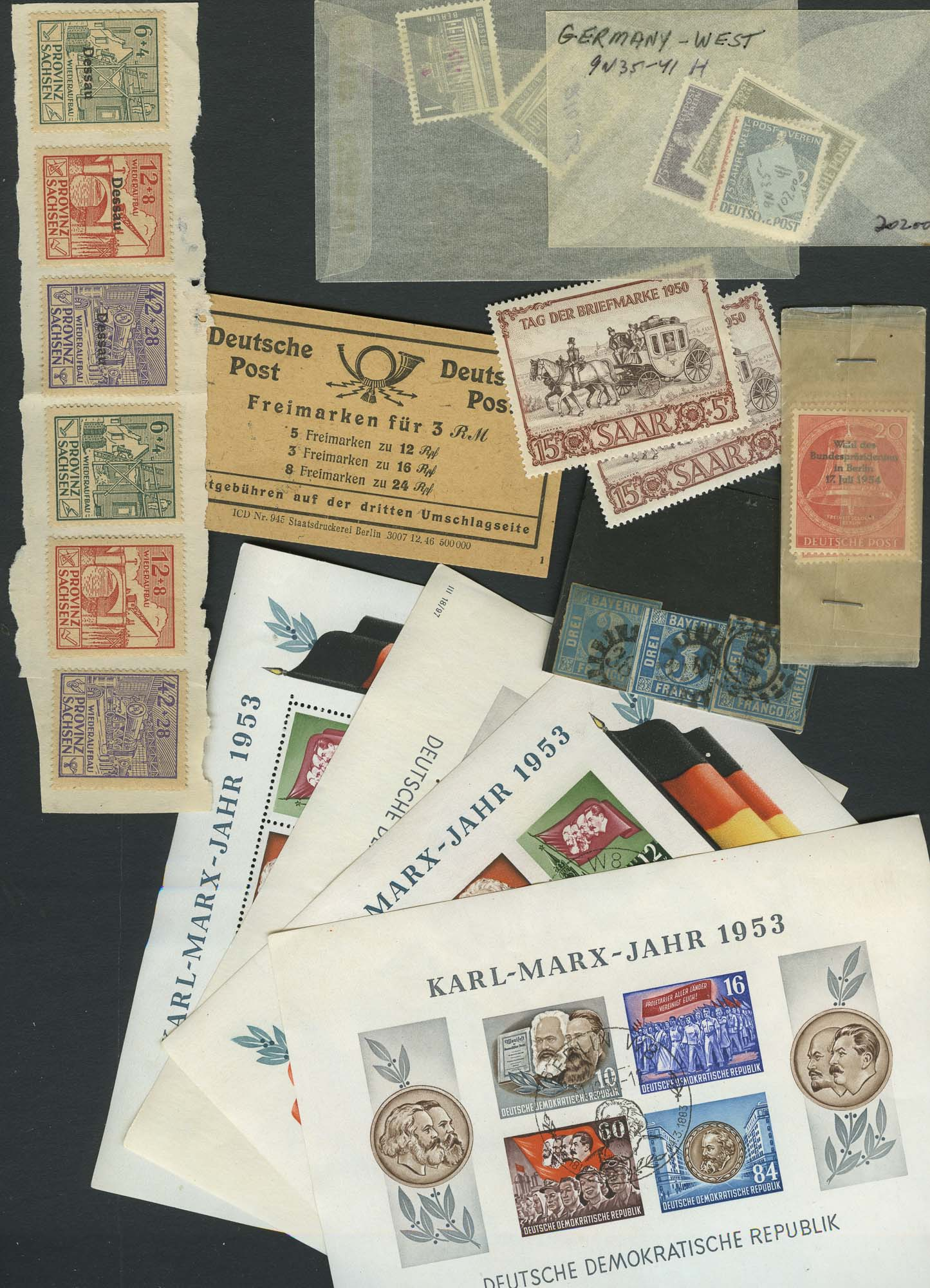 Lot image - German Stamp Collection