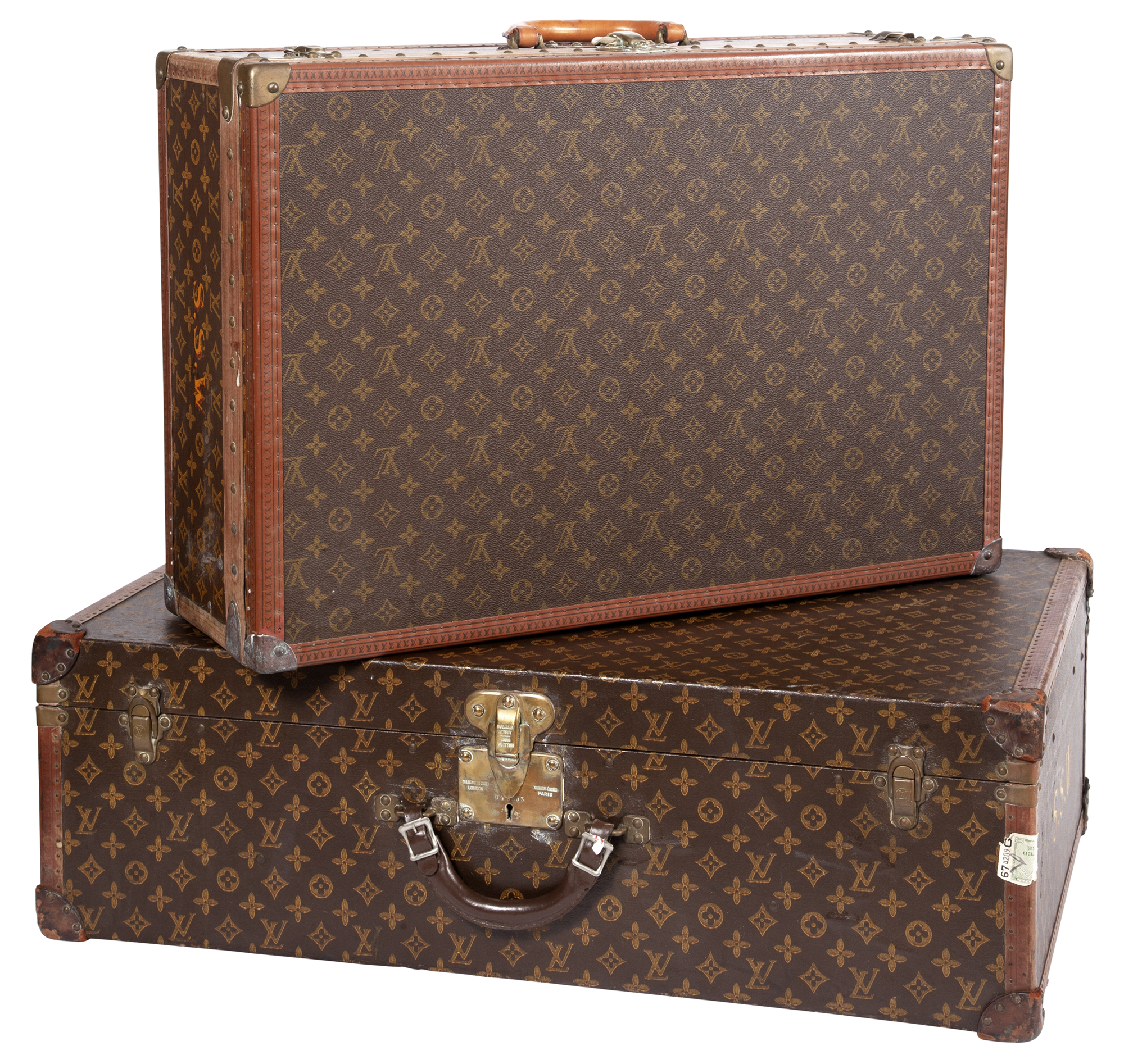 Lot image - Two Louis Vuitton Suitcases