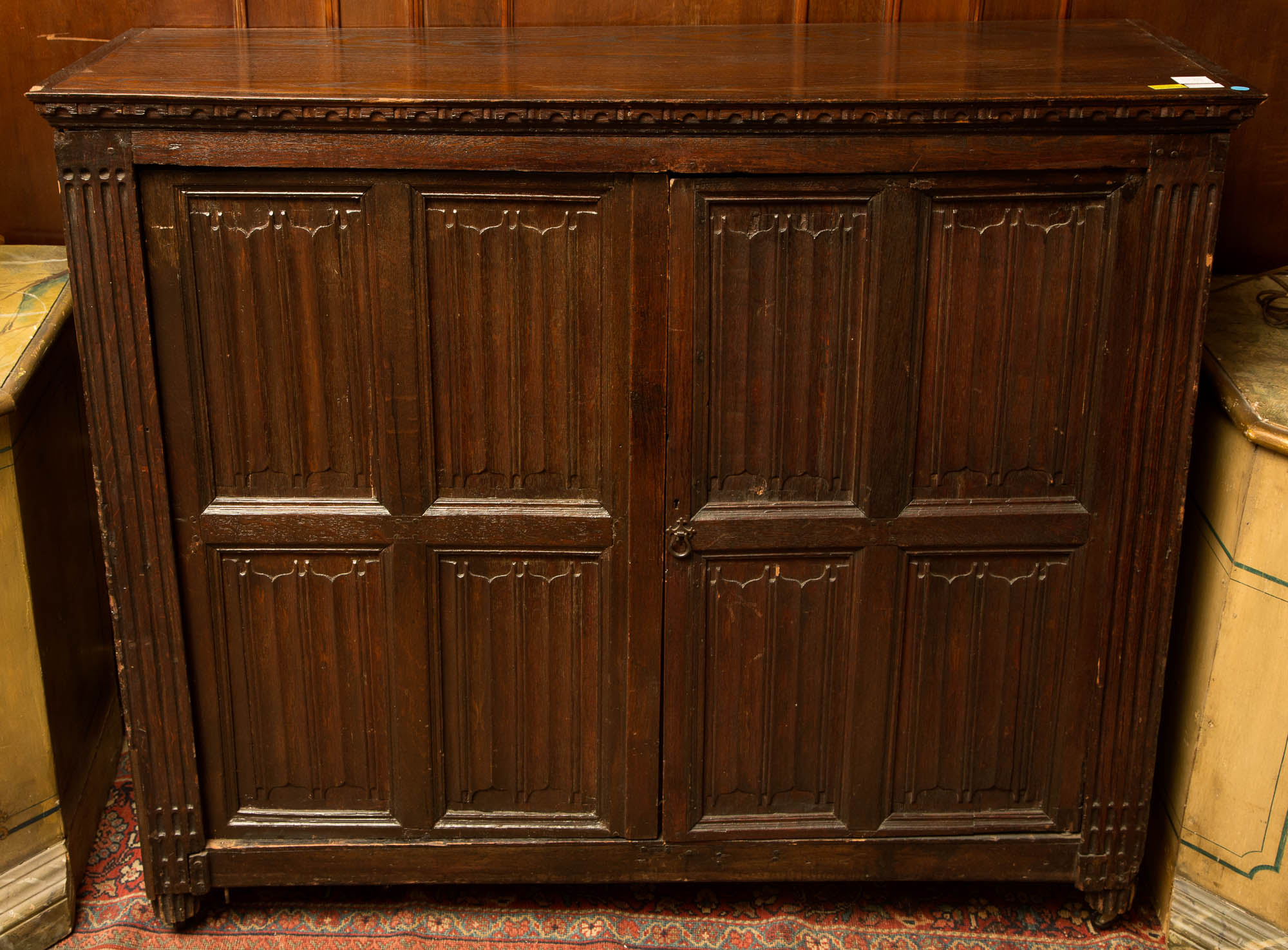 Lot image - Oak Cabinet