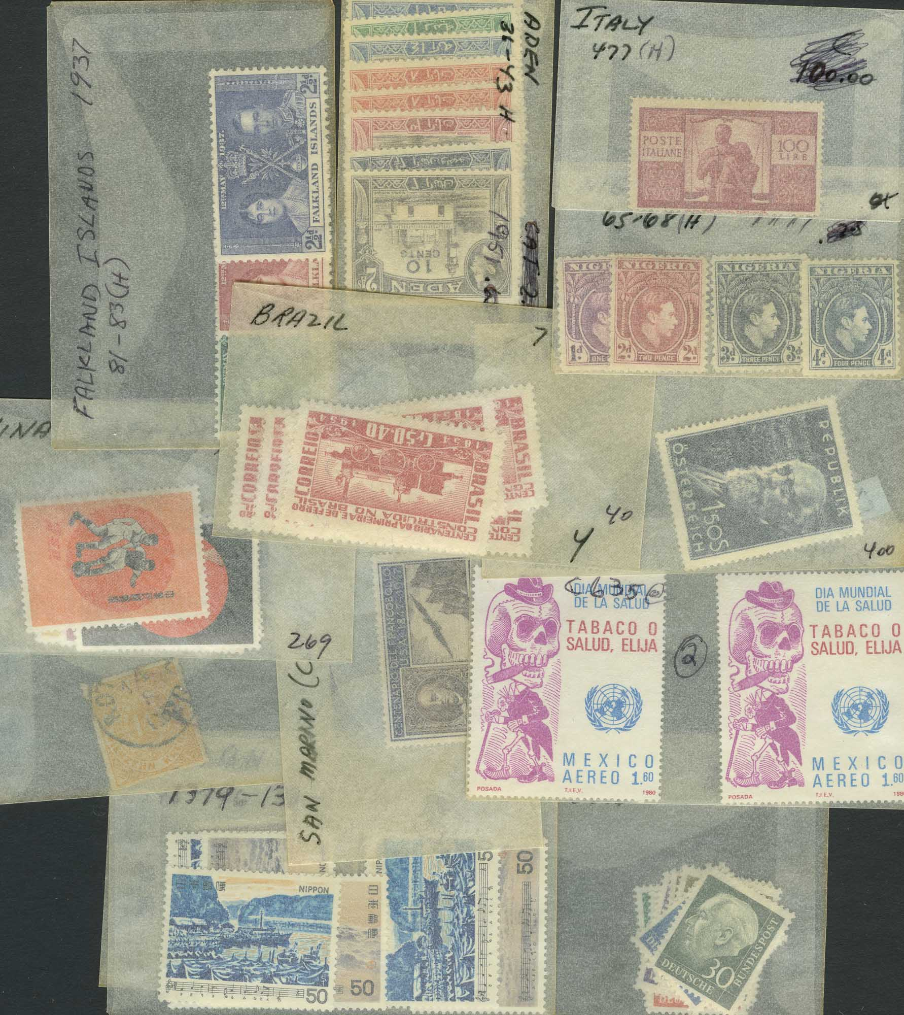 Lot image - World Wide Stamp Assortment