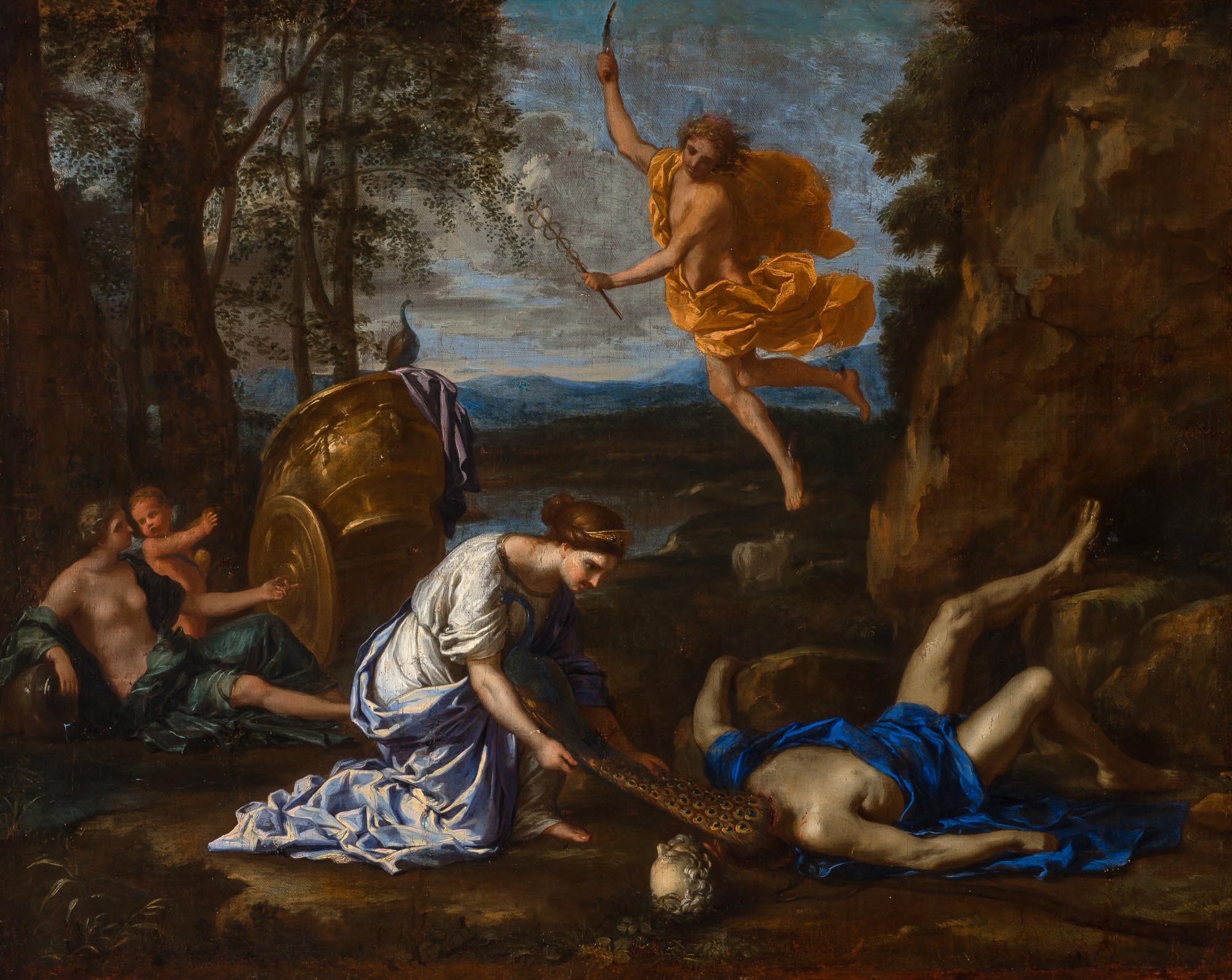 Lot image - Circle of Nicolas Poussin