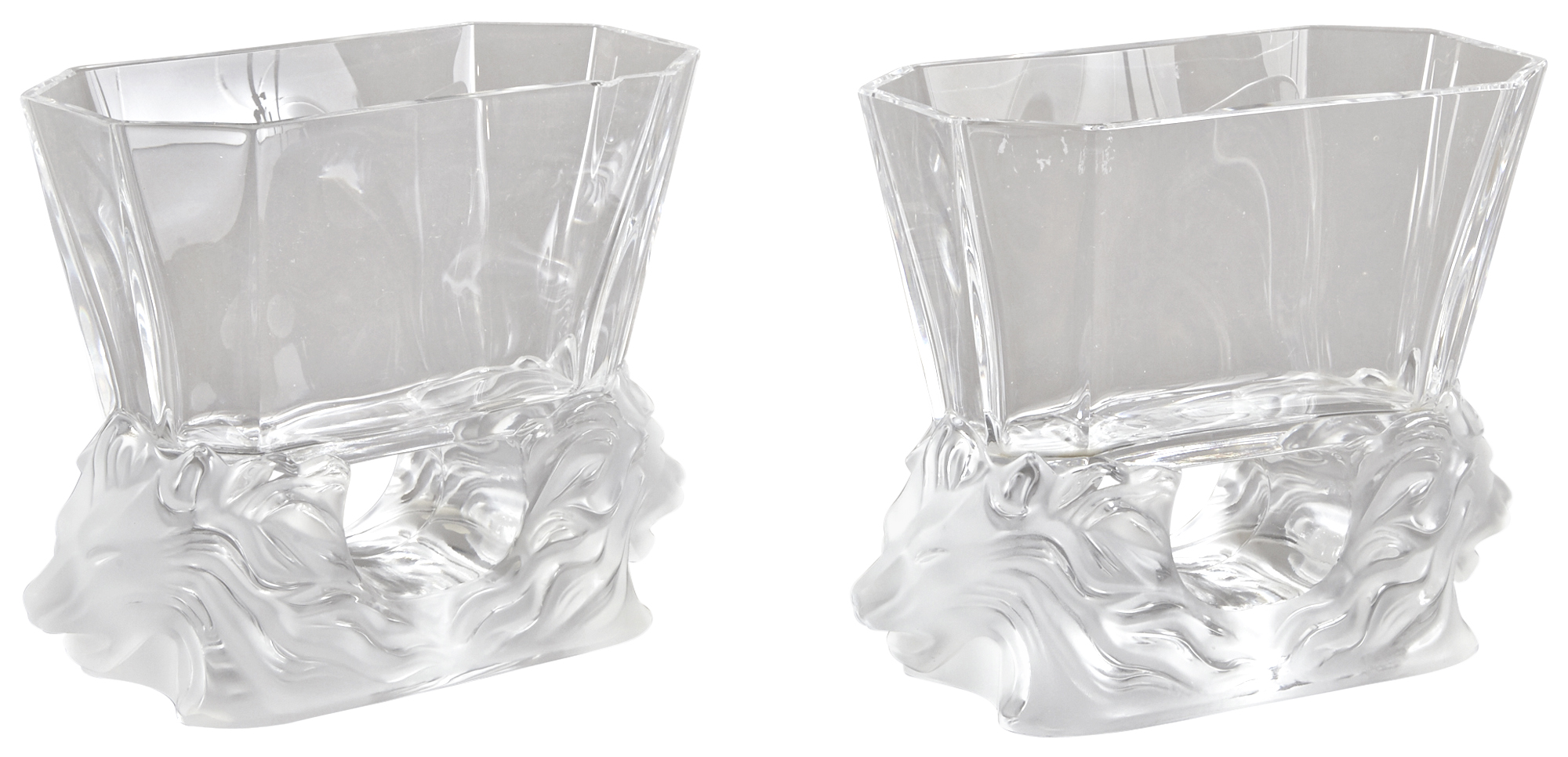 Lot image - Two Lalique Venise