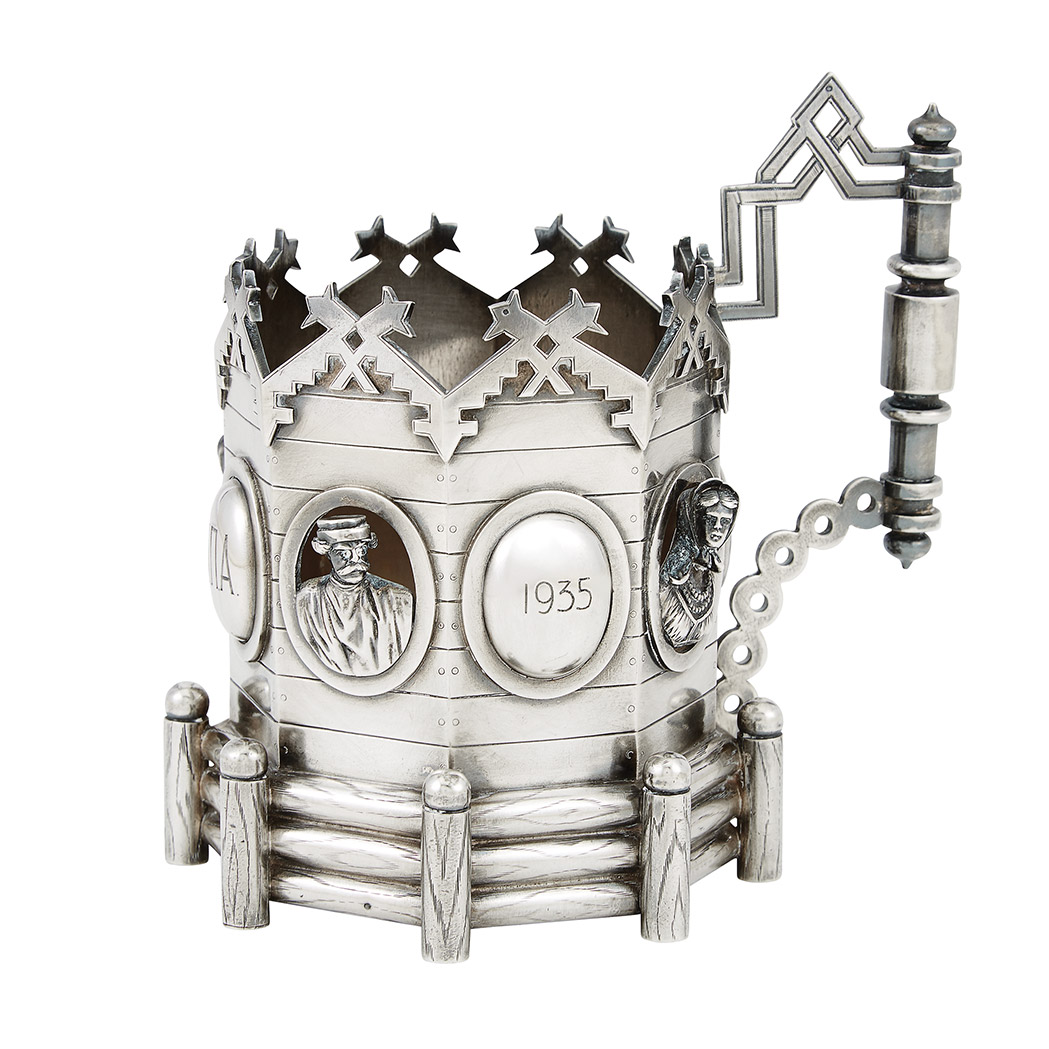 Russian Silver Tea Glass Holder Doyle Auction House