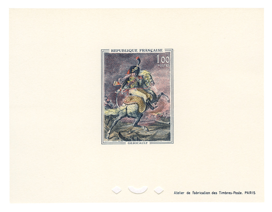 Lot image - France Group of Modern Issues with Deluxe Proofs