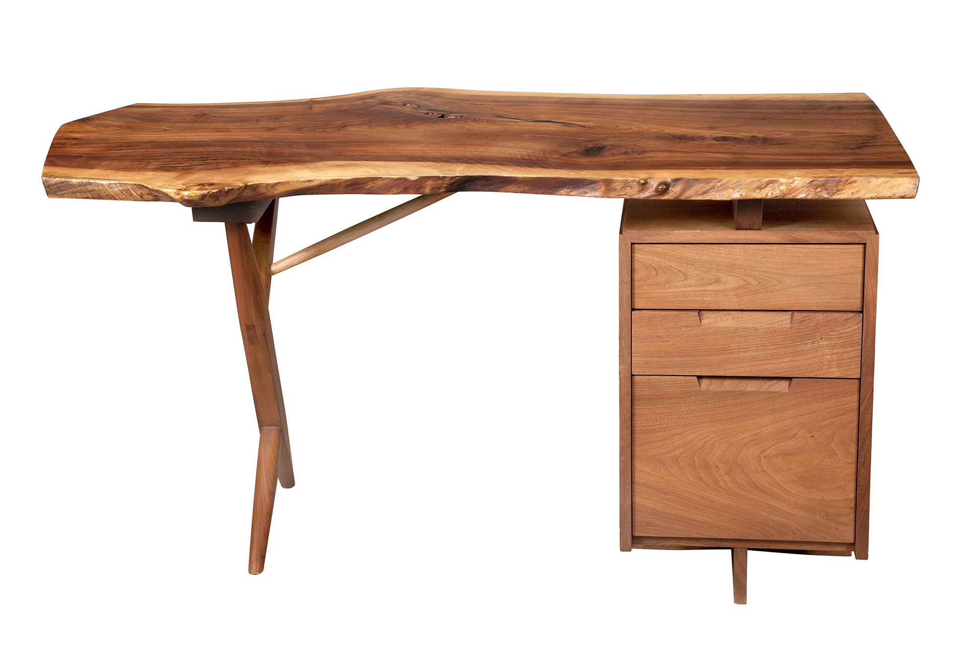 Lot image - George Nakashima Walnut Conoid
