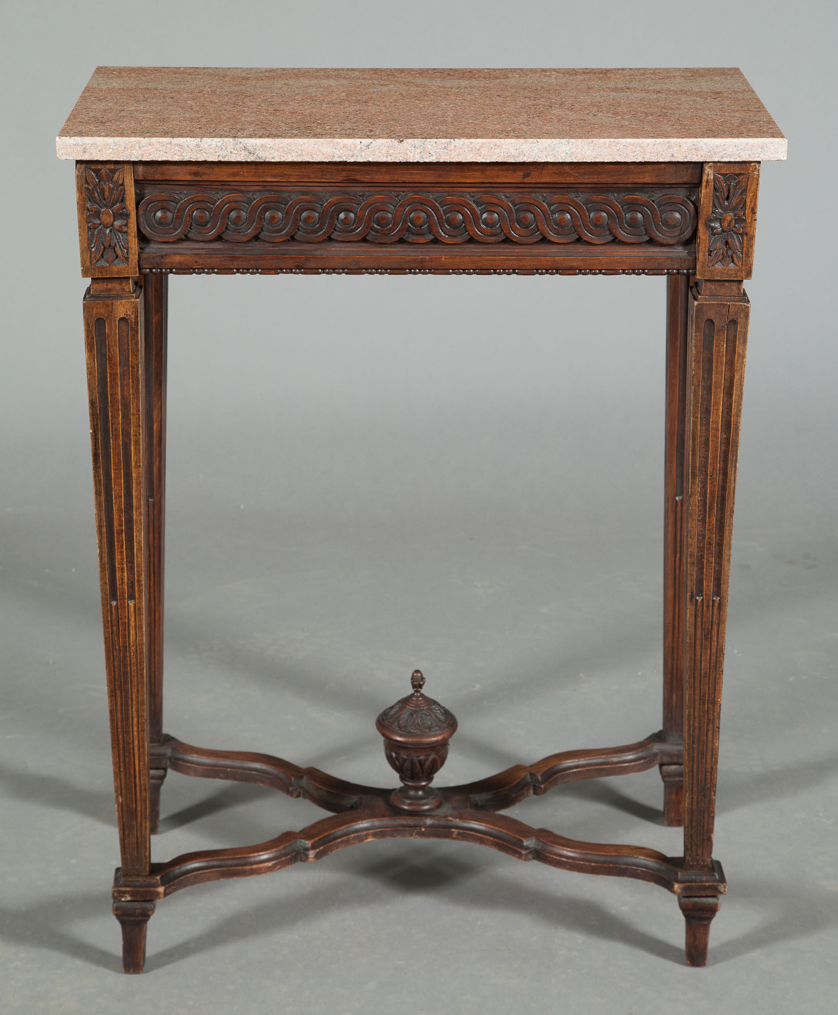 Lot image - Louis XVI Stained Beechwood Table