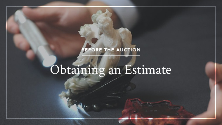 Obtaining an auction estimate at Doyle