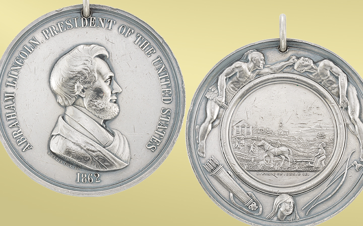 Abraham Lincoln Peace Medal
