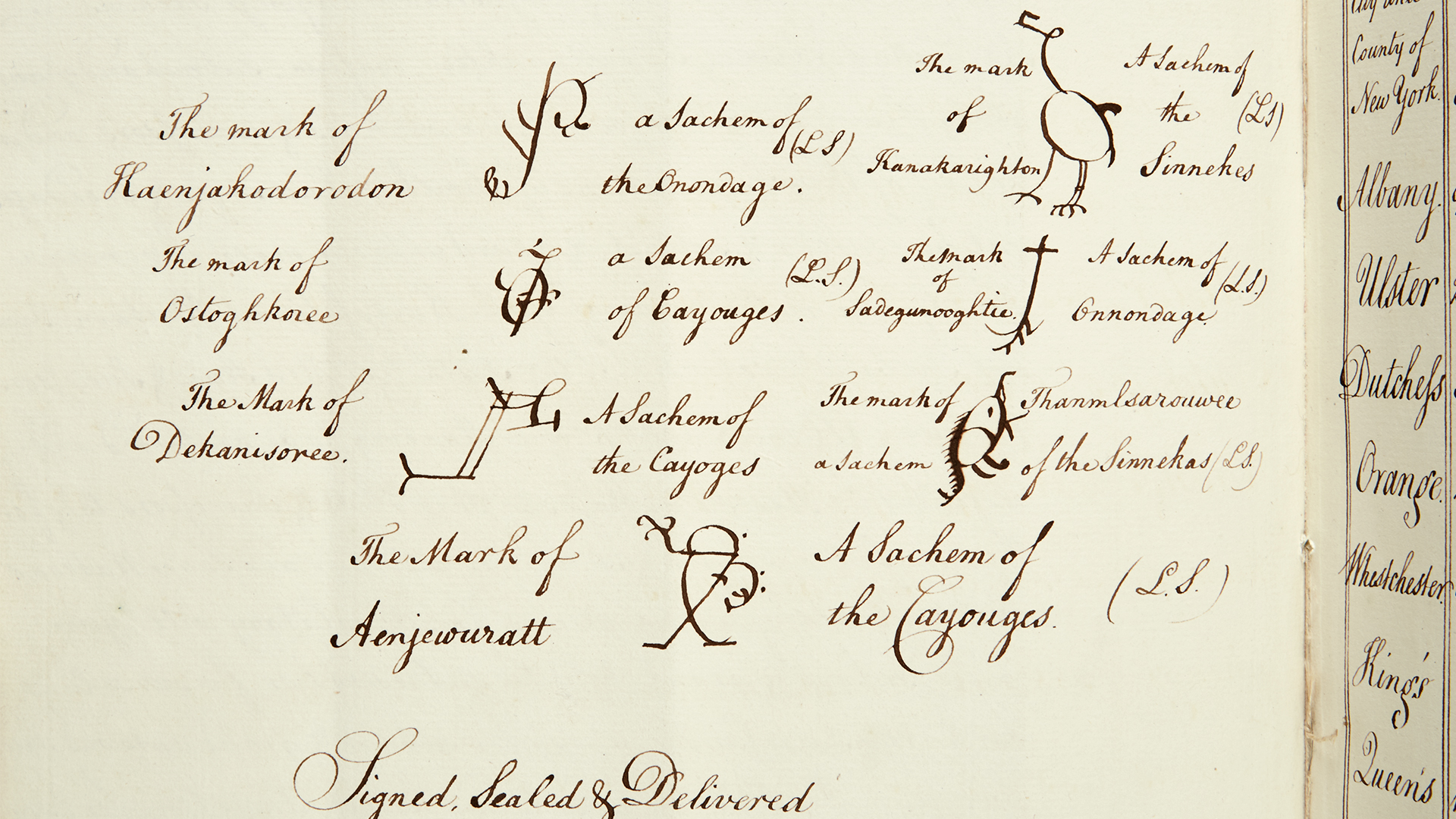 Hillsborough Colonial Returns Manuscript circa 1774