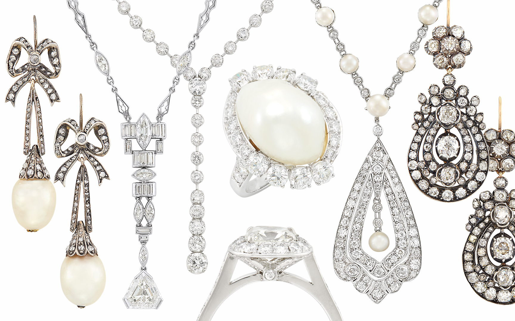 DIamond Jewelry. Auction May 22