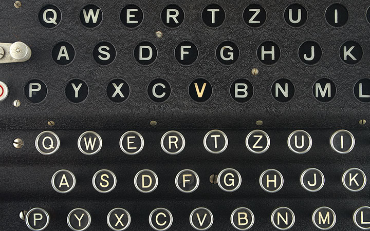 Image for story - Enigma Machine