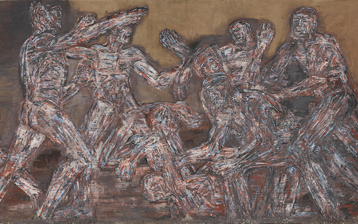 Image for story - Leon Golub: Raw Nerve