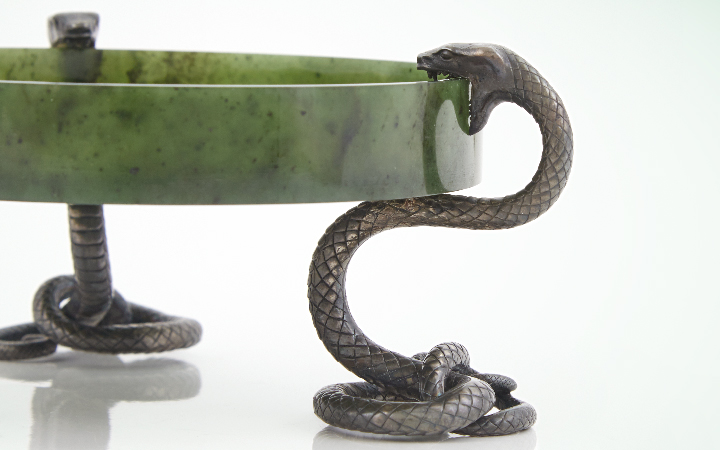 Image for story - The Sinuous Snakes of Fabergé
