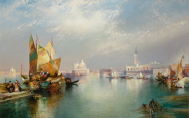 Image for story - Thomas Moran's Vision of Venice