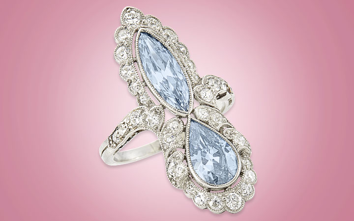 Image for story - Fancy Blue Diamonds
