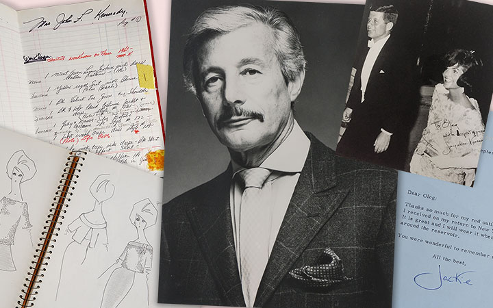 Image for story - Oleg Cassini: A Life in Fashion