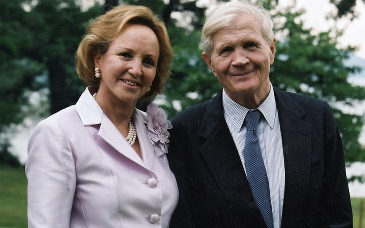 Image for story - Ambassador & Mrs. Evan G. Galbraith