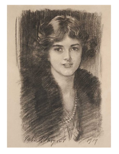 Portrait of Alice Appleton Hay, 1919, by John Singer Sargent