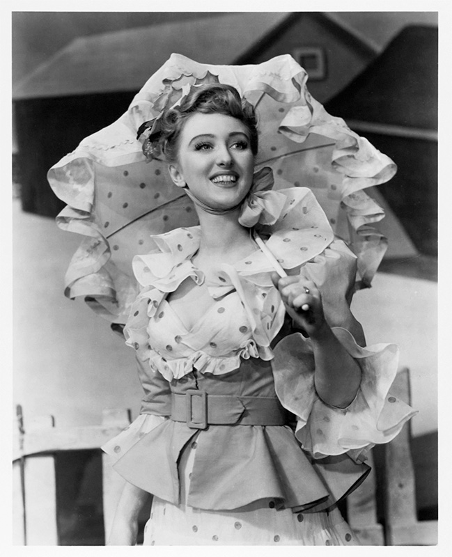As Ado Annie in Oklahoma! (1943)