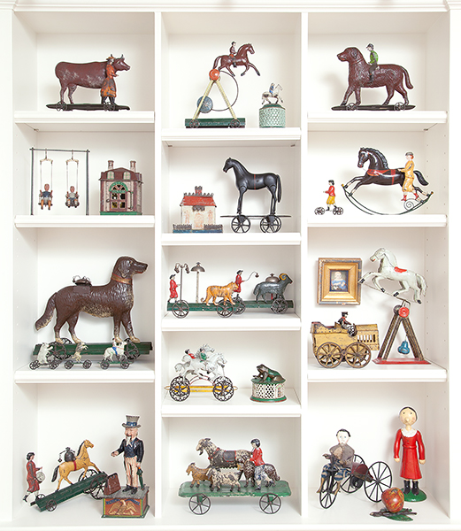 A selection of toys from the Estate of a Prominent Collector of Important American Folk Art
