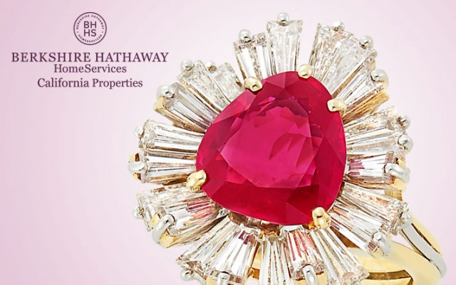 Burma Ruby and Diamond Ring