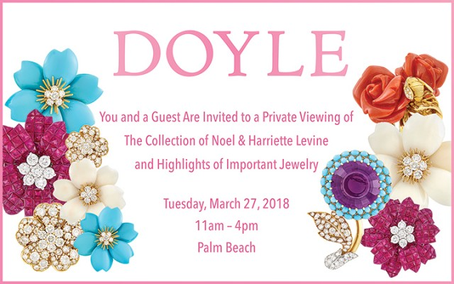 Palm Beach Jewelry Preview / Tuesday, March 27, 11am - 4pm