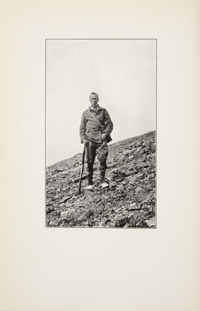 [ALASKA]  HUNTER, FENLEY. Frances Lake Yukon Dawson 1887 Hunter 1923.