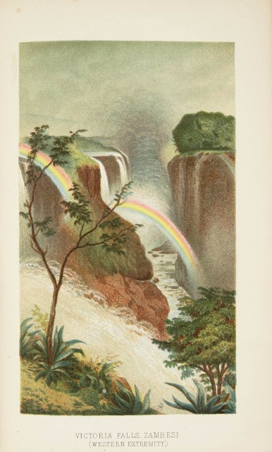 OATES, FRANK  Matabele Land and the Victoria Falls.
