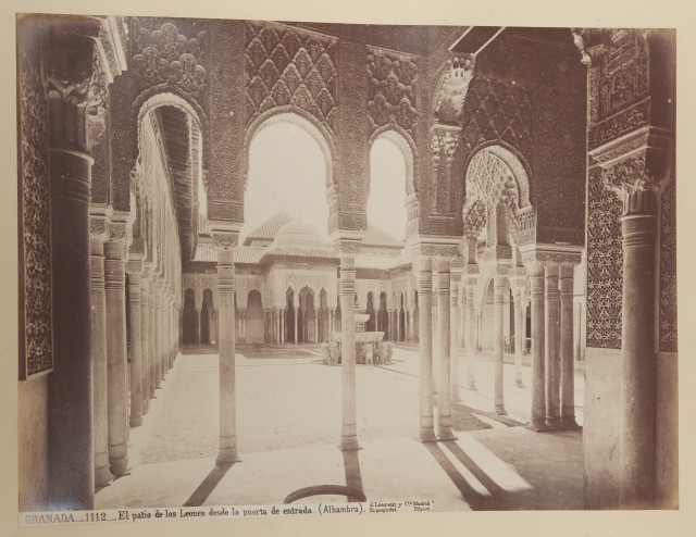 PHOTOGRAPH ALBUMS Two late 19th century photograph albums depicting sites...