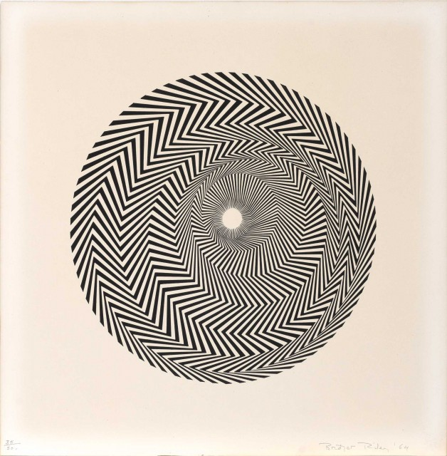 Bridget Riley (b. 1931)