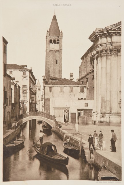 ONGANIA, FERDINAND Streets and Canals of Venice and in the ...