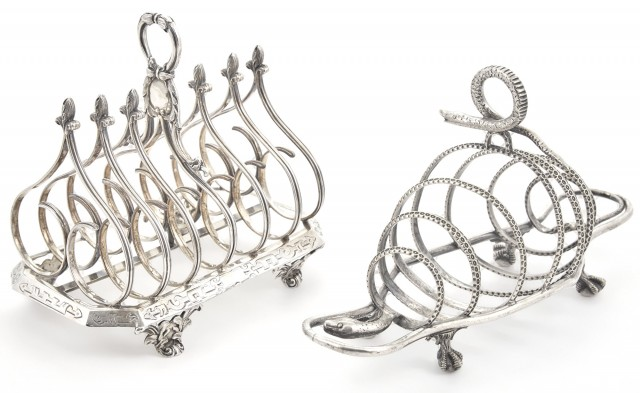 William IV Sterling Silver Toast Rack