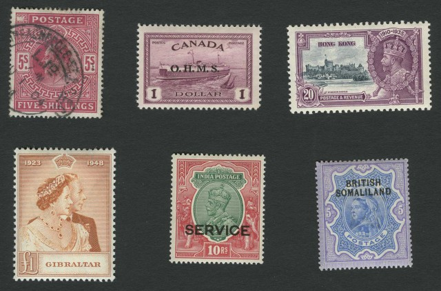 British Commonwealth Postage Stamp Collections