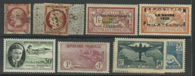 France Postage Stamp Collection