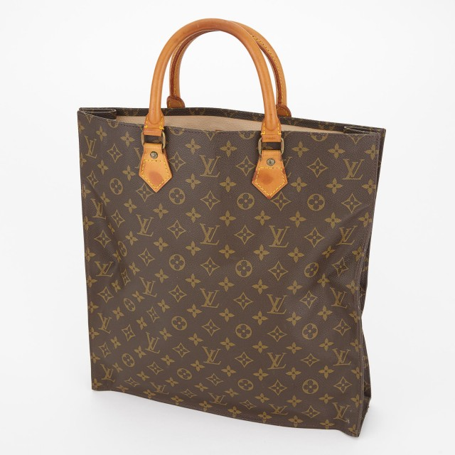 Monogram 'Sac Plat' Tote, Louis Vuitton