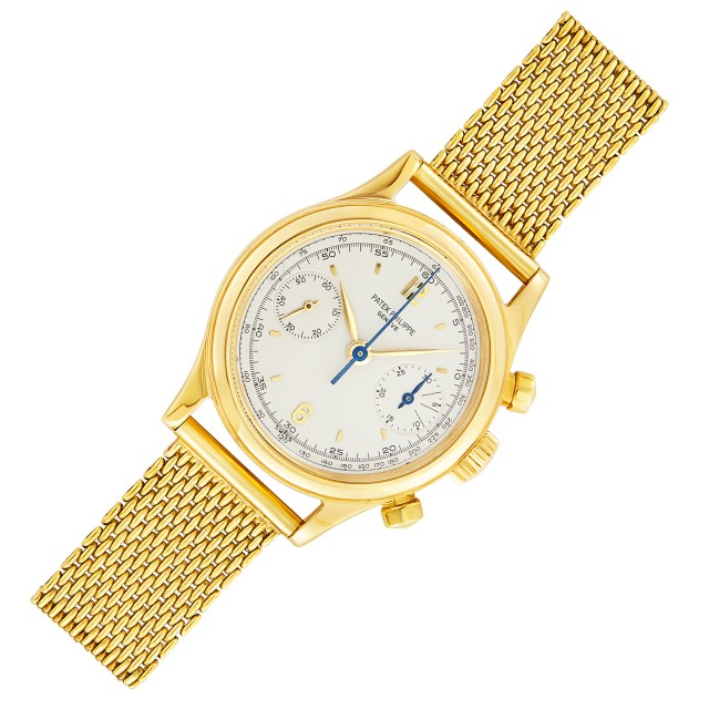 Patek Philippe, Gold Chronograph Wristwatch, Ref. 1463