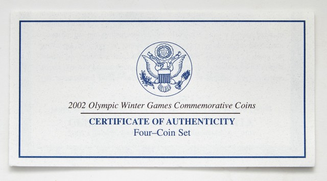 United States Commemorative Proof Gold Issues