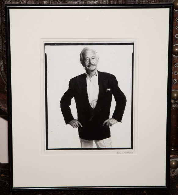 AVEDON, RICHARD  Portrait of Oleg Cassini.