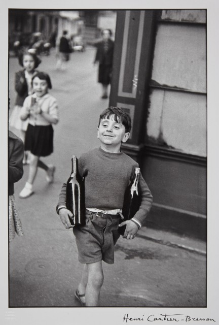 CARTIER-BRESSON, HENRI (1908-2004)  Rue Mouffetard, Paris,
