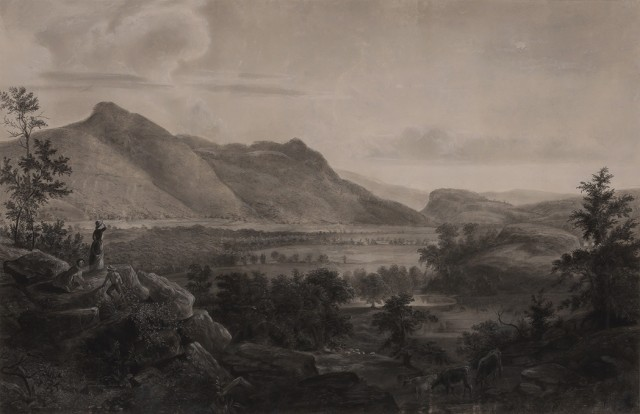 "[DURAND, ASHER B., after]  Early copy of ""Dover Plains, Dutchess County, New York, 1848."""