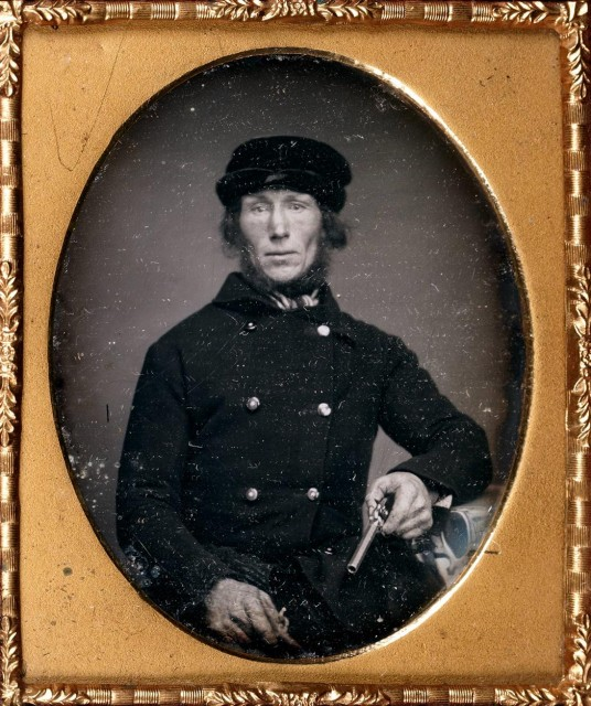 [DAGUERREOTYPE etc.-PORTRAITURE]  Group of unusual and interesting male portraits and occupationals.