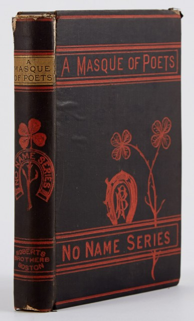 [DICKINSON, EMILY]  A Masque of Poets