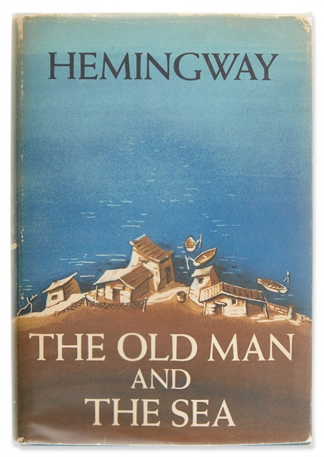 HEMINGWAY, ERNEST  The Old Man and the Sea.
