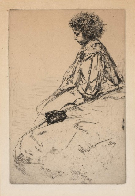 James Abbott McNeill Whistler  (1834-1903)