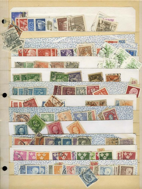 Stamp Collection Balances