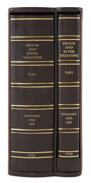 EDMONDS, HARFIELD H. and LEE, NORMAN N.  Brook and River Trouting.
