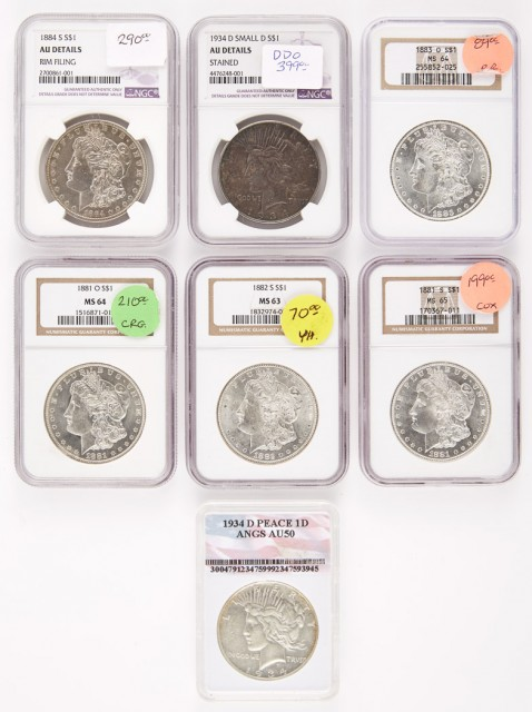 United States Silver Dollar Group