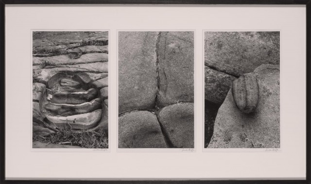 CLERGUE, LUCIEN (1934-2014)  Triptych: Boulder Formations.
