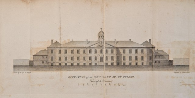 [EDDY, THOMAS]  An Account of the State Prison, or Penitentiary House, in N. Y. City, by one of the Inspectors of the Prison.